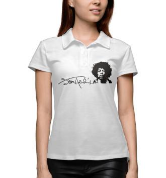 Женское Поло Jimi Hendrix