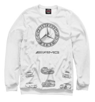 Женский Свитшот Mercedes-Benz AMG whgray