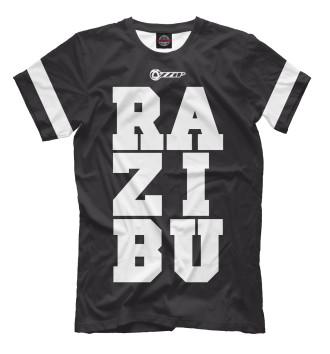 Мужская Футболка RAZIBU BLACK