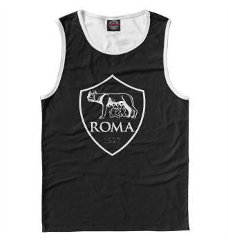 Мужская Майка FC ROMA Black&White