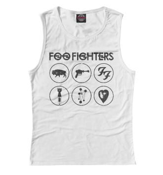 Женская Майка Foo Fighters