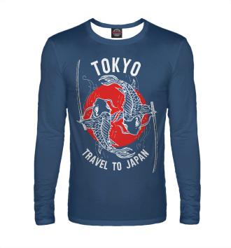 Мужской Лонгслив Tokyo. Travel to Japan