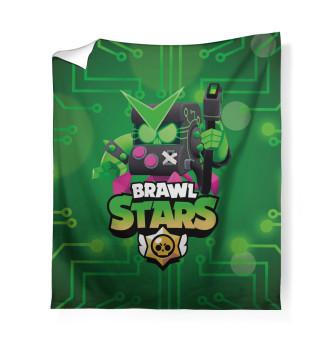 Плед Brawl Stars Virus 8-Bit