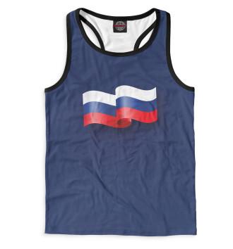 Мужская Борцовка Флаг