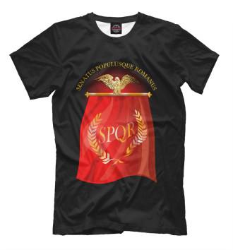 Мужская Футболка Символ Древнего Рима
