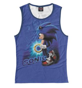 Женская Майка Sonic