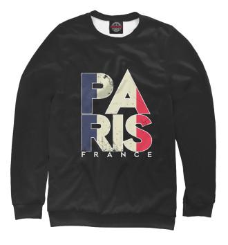 Женский Свитшот Франция - Париж