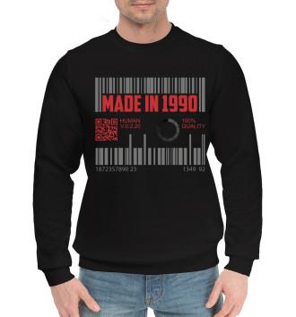 Мужской Хлопковый свитшот Made in 1990