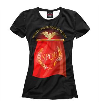 Женская Футболка Символ Древнего Рима