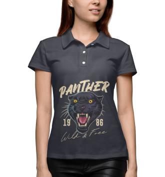 Женское Поло Пантера