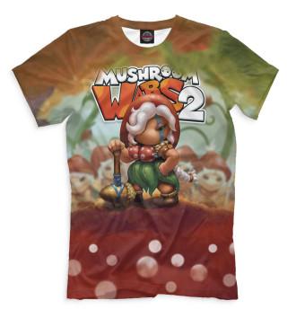 Мужская Футболка Mushroom Wars 2