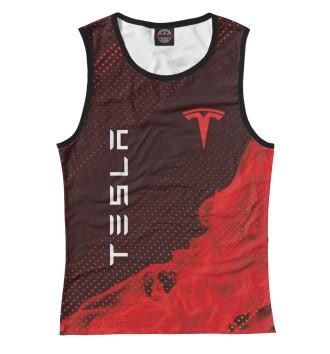 Женская Майка Tesla / Тесла
