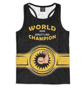 Мужская Борцовка World Arm Wrestling Champion
