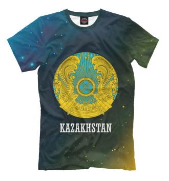 Мужская Футболка Kazakhstan / Казахстан