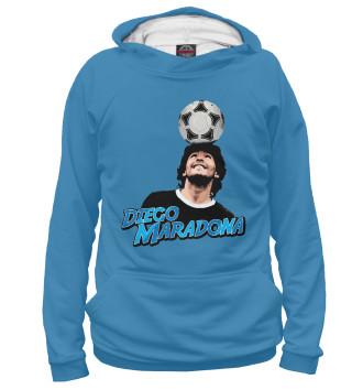 Женское Худи Diego Maradona