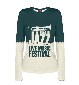 Женский Лонгслив Jazz festival