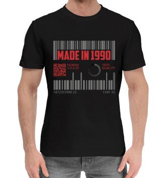 Мужская Хлопковая футболка Made in 1990