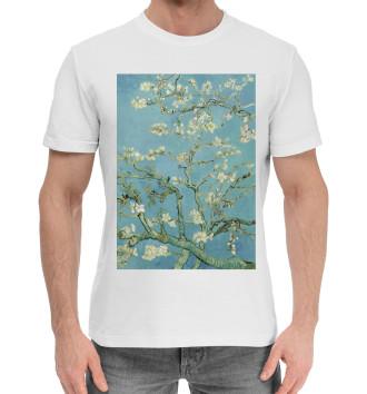 Мужская Хлопковая футболка Ван Гог