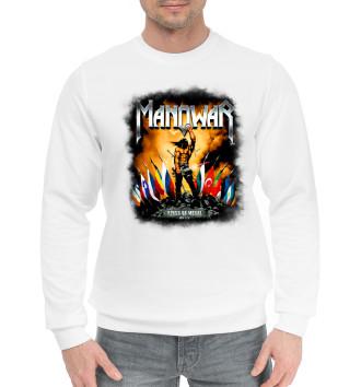 Мужской Хлопковый свитшот Manowar