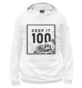 Женское Худи Keep it 100