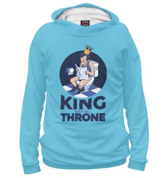 Женское Худи Король и его трон