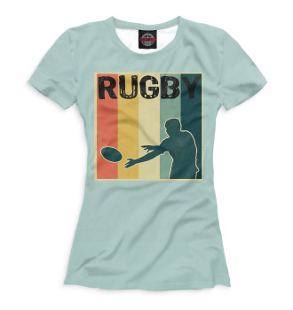 Женская Футболка Rugby