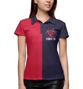 Женское Поло Resident Evil