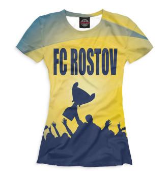 Женская Футболка ФК Ростов