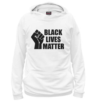 Женское Худи Black lives matter