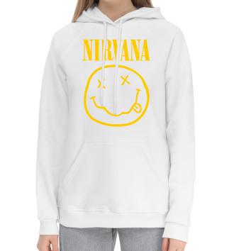 Женский Хлопковый худи Nirvana
