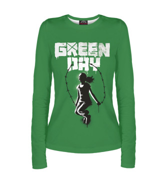 Женский Лонгслив Green Day