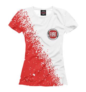 Женская Футболка FIAT / Фиат