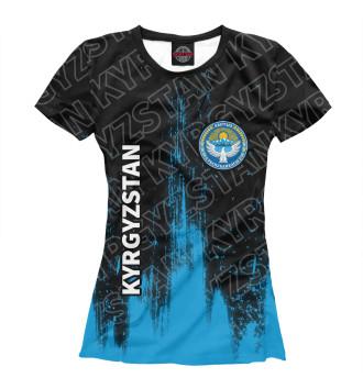 Женская Футболка Киргизия
