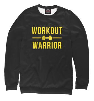 Мужской Свитшот Workout warrior