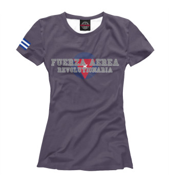 Женская Футболка Cuban Air Forces