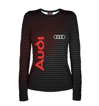 Женский Лонгслив Audi / Ауди
