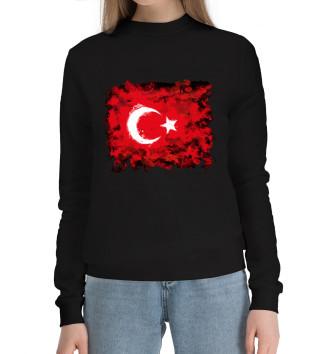 Женский Хлопковый свитшот Турция