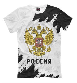 Мужская Футболка Россия / Russia