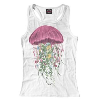 Женская Борцовка Медуза из цветов