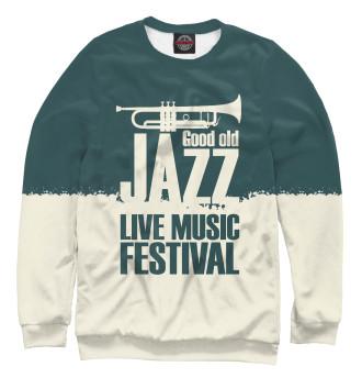 Мужской Свитшот Jazz festival