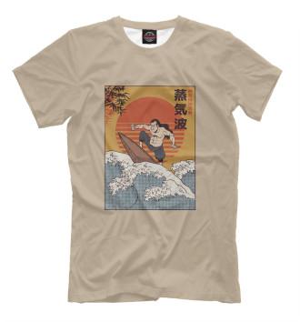 Мужская Футболка Samurai Surfing