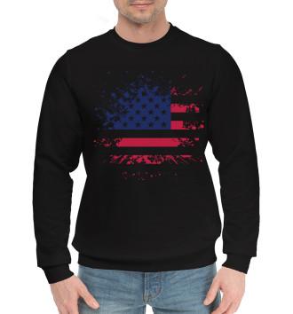 Мужской Хлопковый свитшот USA