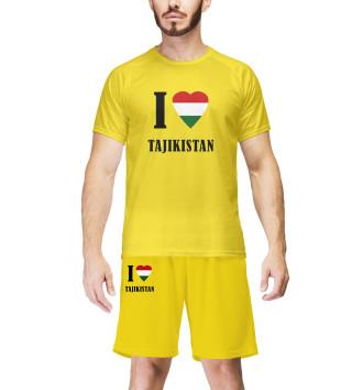 Мужская Комплект I love Tajikistan
