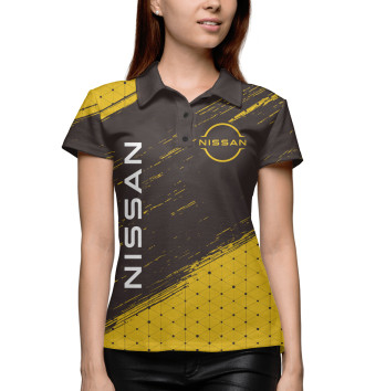 Женское Поло Nissan / Ниссан