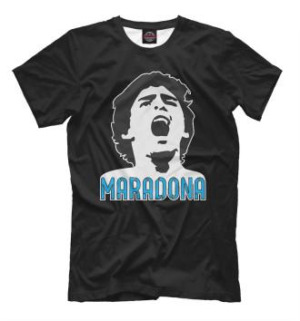 Мужская Футболка Марадона