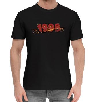 Мужская Хлопковая футболка 1998