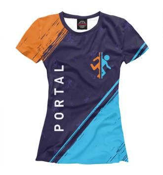 Женская Футболка Portal / Портал