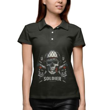 Женское Поло Солдат