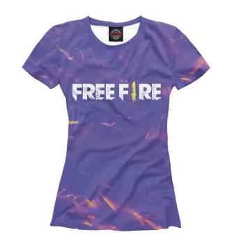 Женская Футболка Free Fire / Фри Фаер
