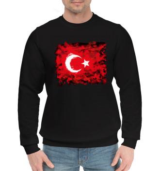 Мужской Хлопковый свитшот Турция